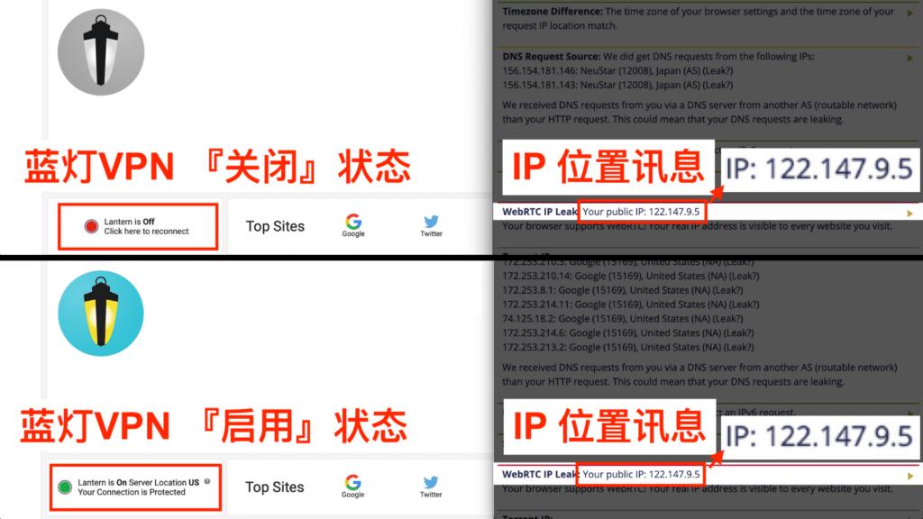 蓝灯VPN 被抓、使用蓝灯VPN 泄露IP位置讯息