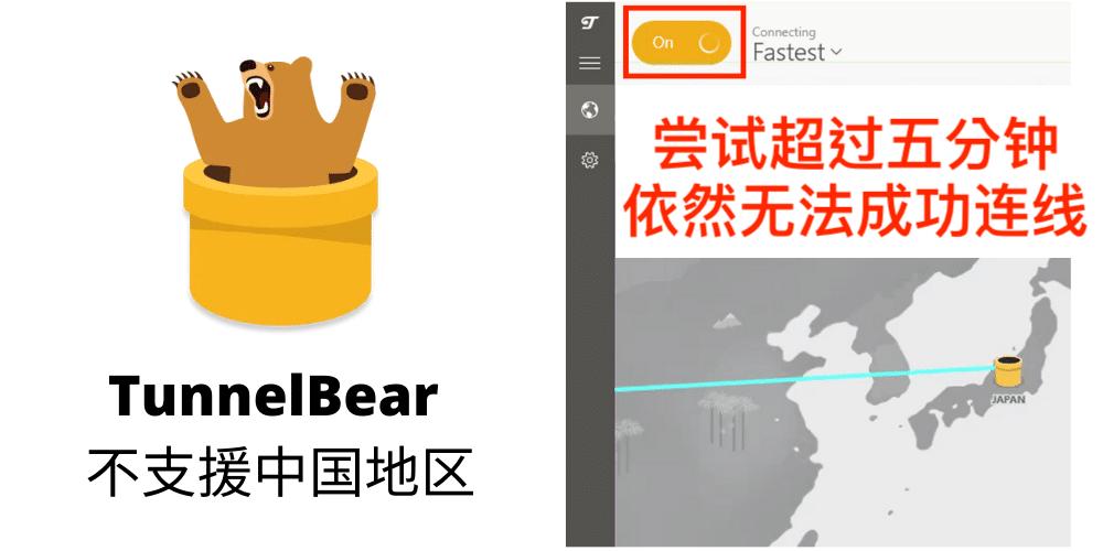 TunnelBear 中国|中国免费VPN